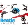 WLTOYS (WL-V929-B-M1) WL Beetle 4CH UFO RTF (Blue, Mode1) - 2.4GHzWLTOYS Helicopters